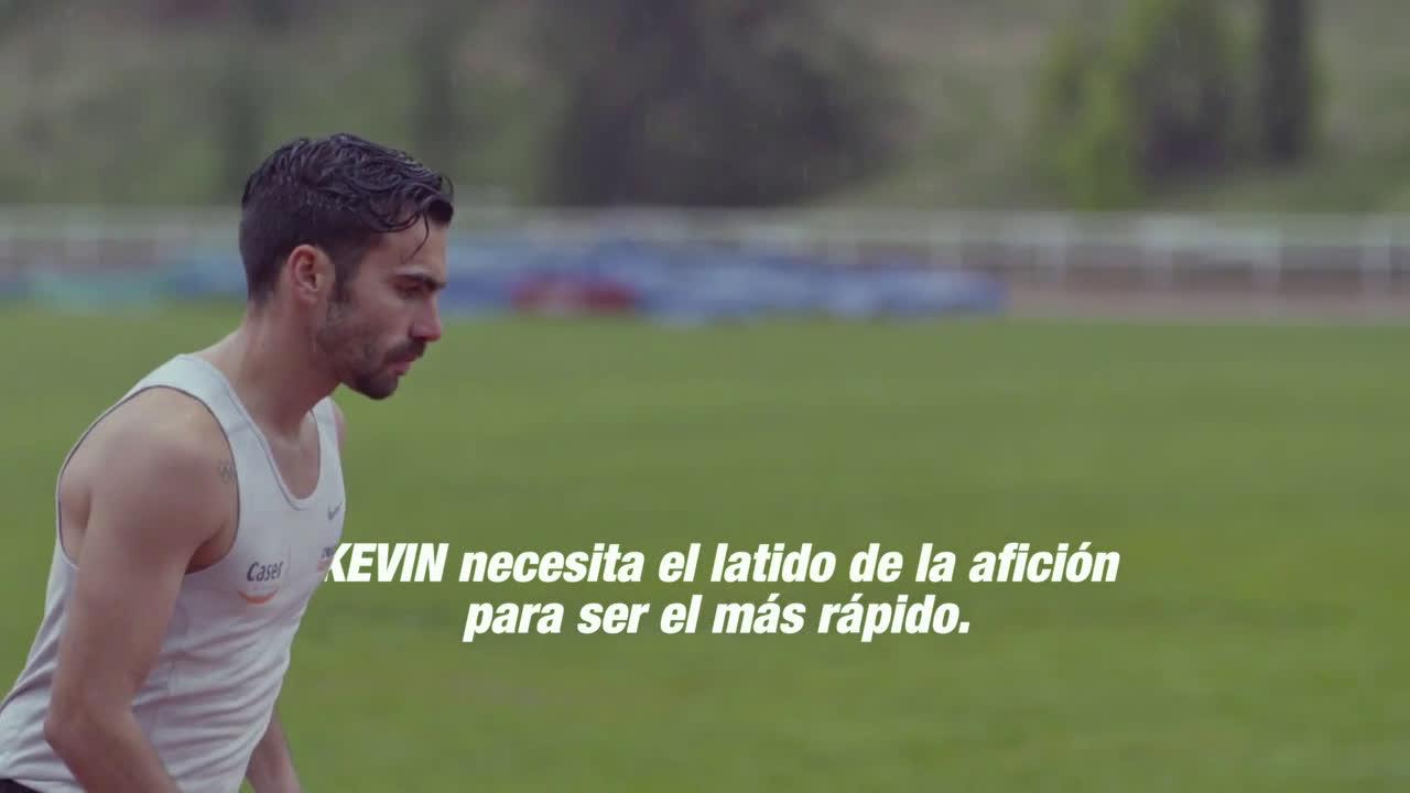 Caser Seguros Corazón de Campeones Kevin López anuncio