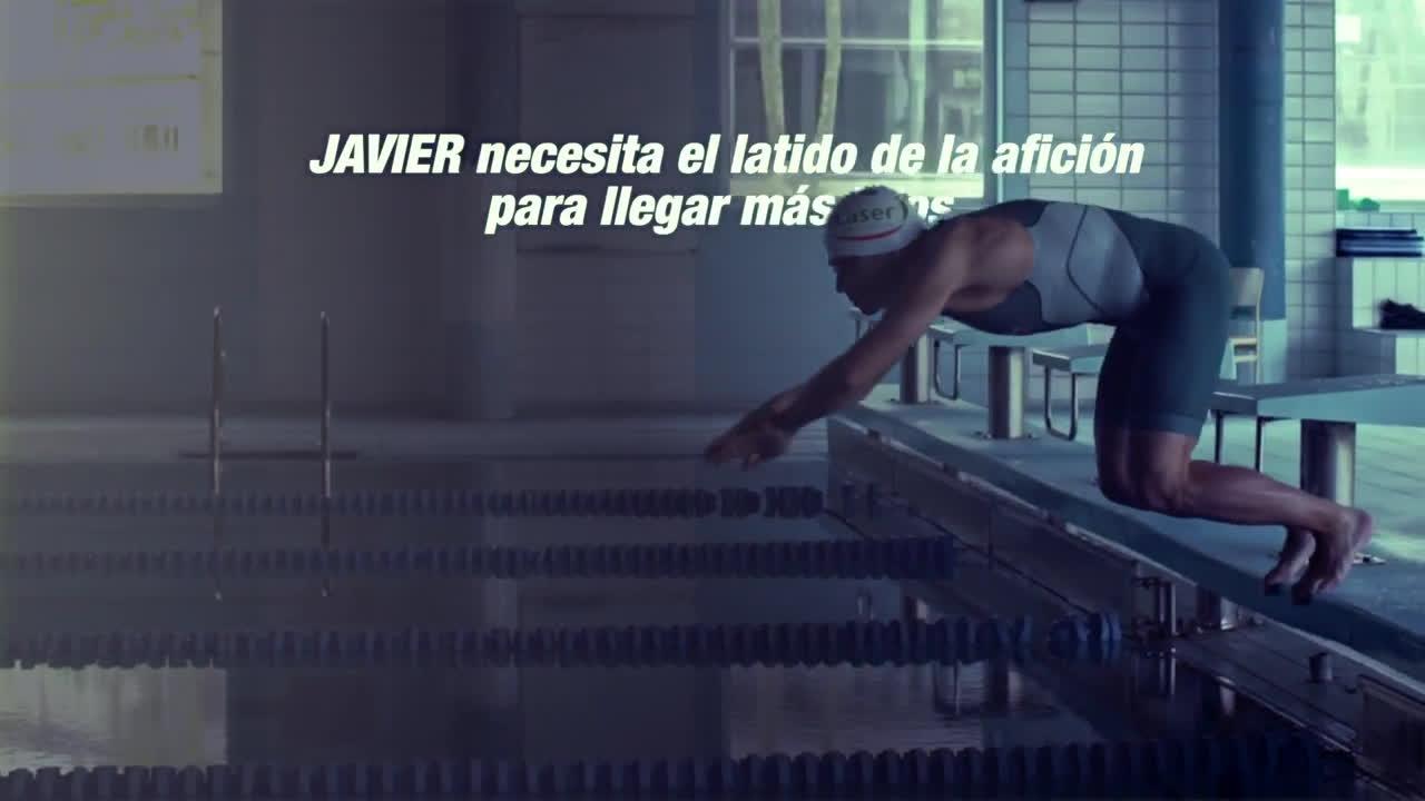 Caser Seguros Corazón de Campeones Javier Gómez Noya anuncio
