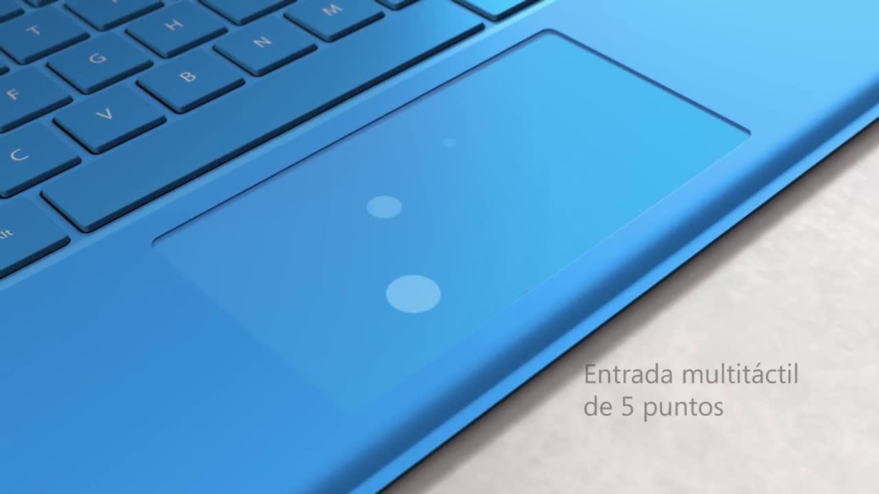 Microsoft Nueva Funda con Teclado de Surface Pro 4 anuncio