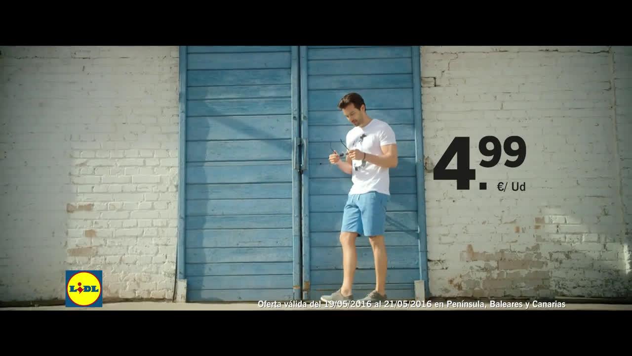 LIDL Moda Para Él anuncio