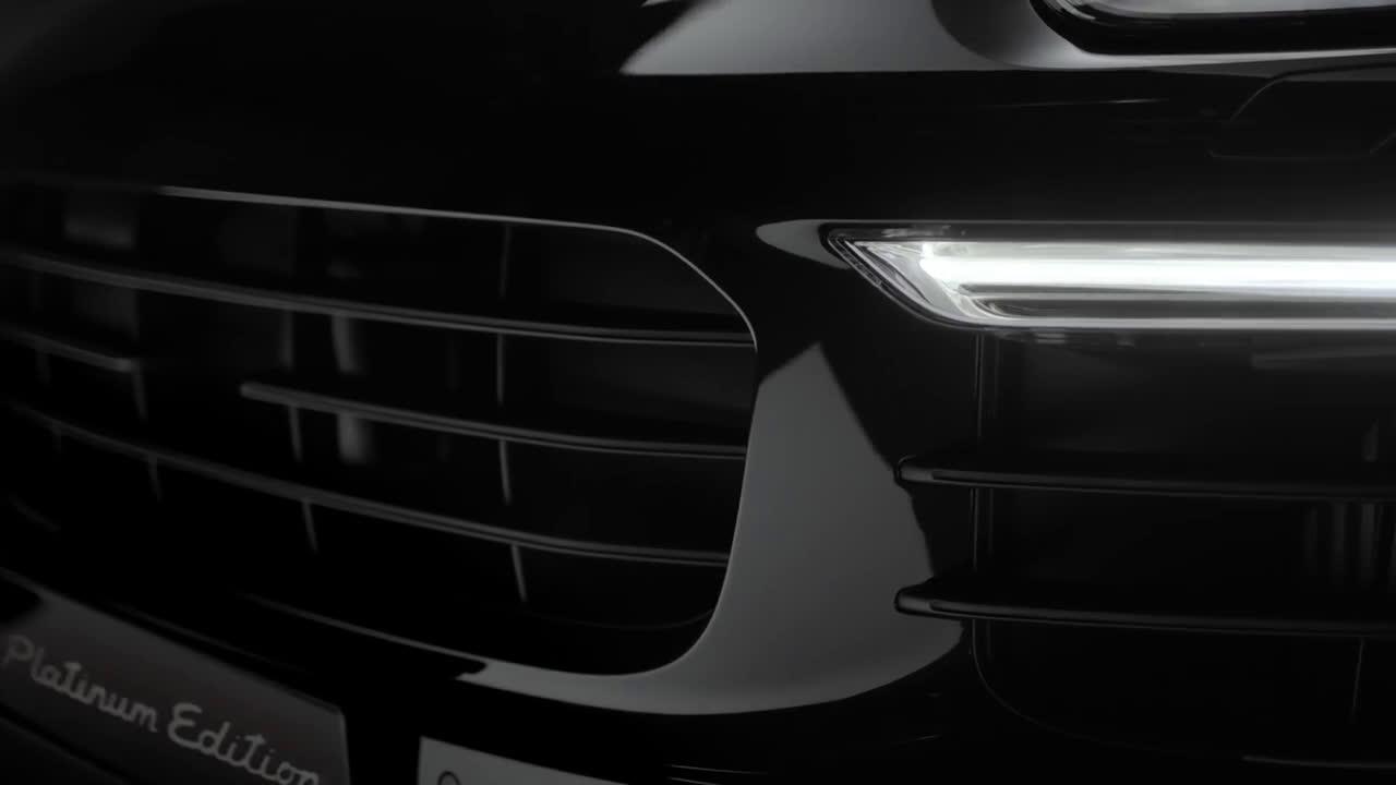 Nuevos Cayenne Platinum Edition. Deportividad refinada. Trailer