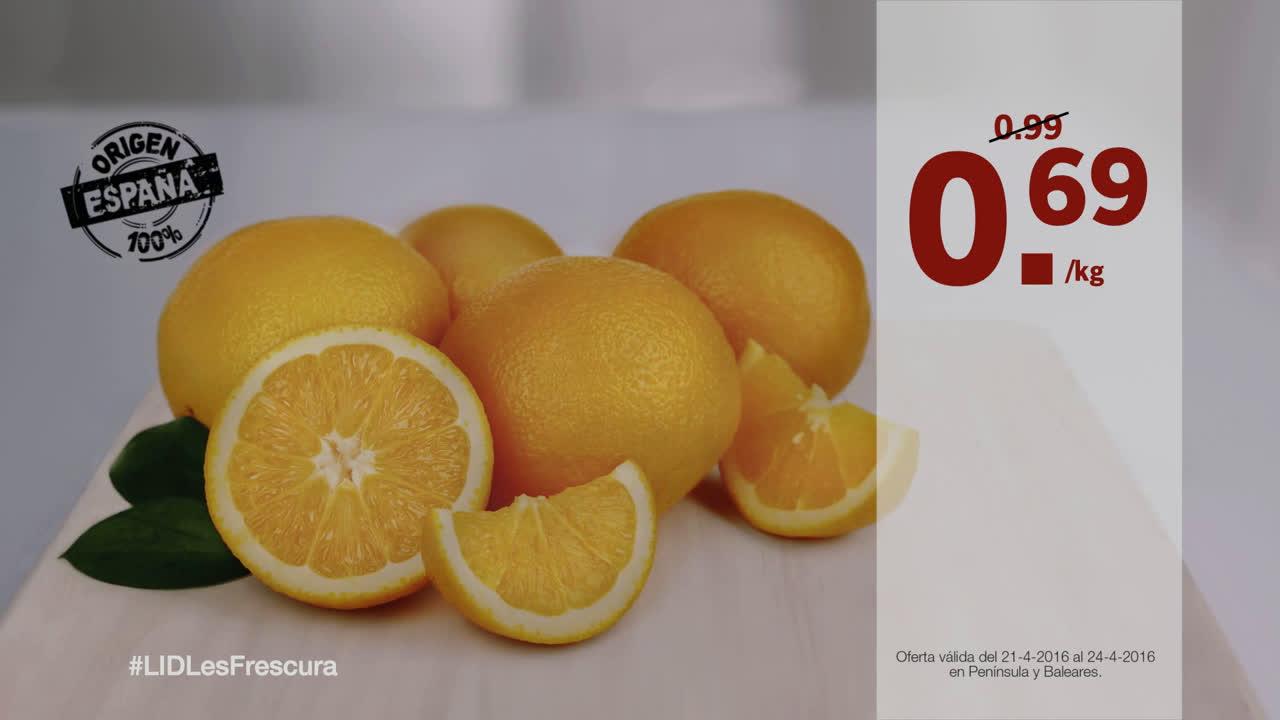 LIDL Fruta Fresca - Lidl España anuncio
