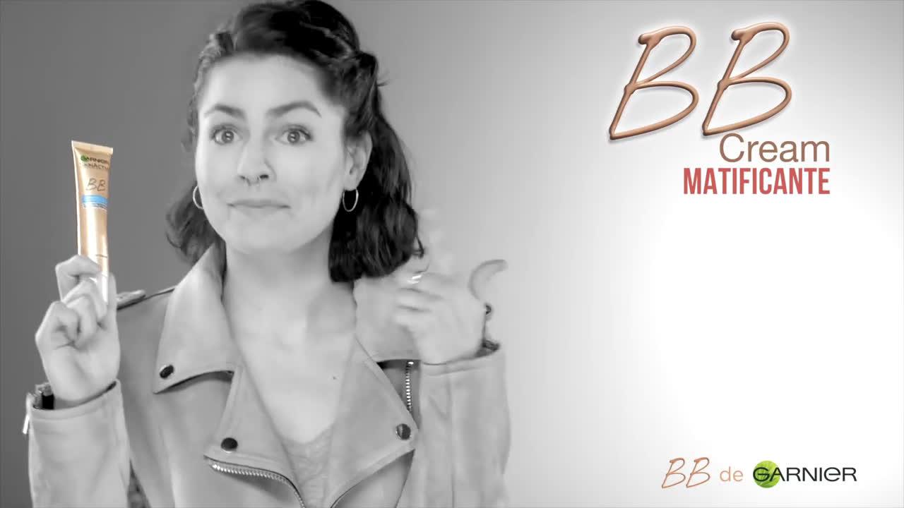 Garnier Olvídate de los granos y las marcas con la BB Cream  anuncio