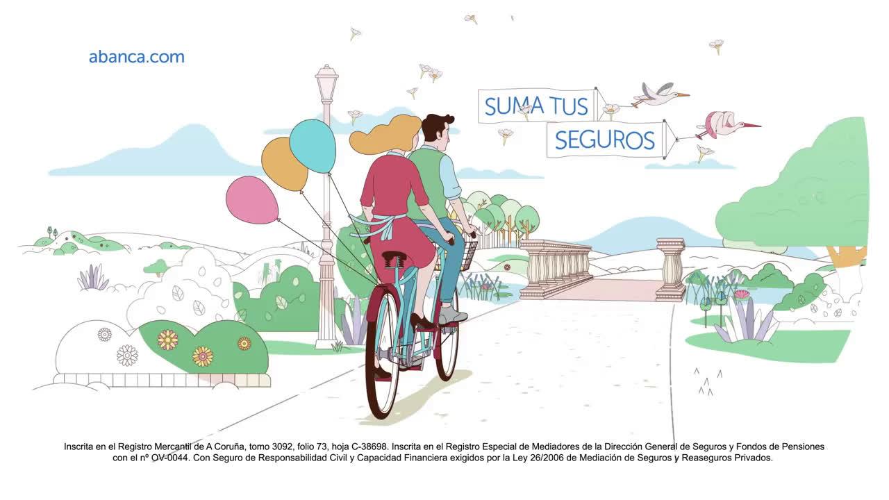 ABANCA Plácido y Serena anuncio