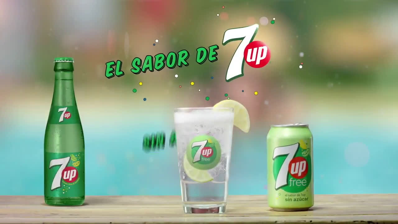 7up Feels Good To Be Free  anuncio