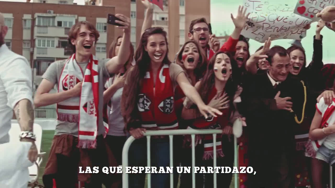 KFC #El11DeGala - Kentucky Fútbol Club anuncio