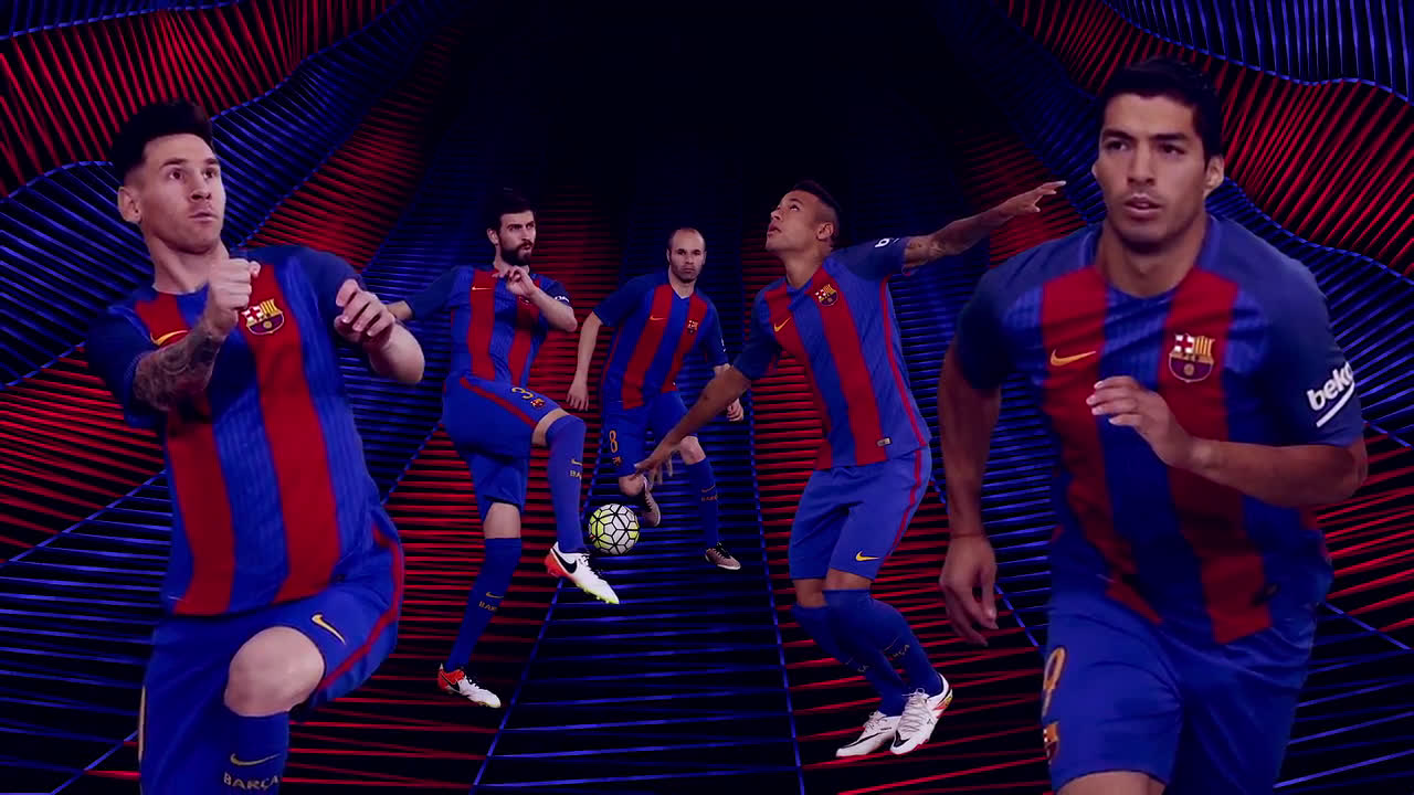 Soccerfactory presentación camiseta FC Barcelona 16-17 anuncio