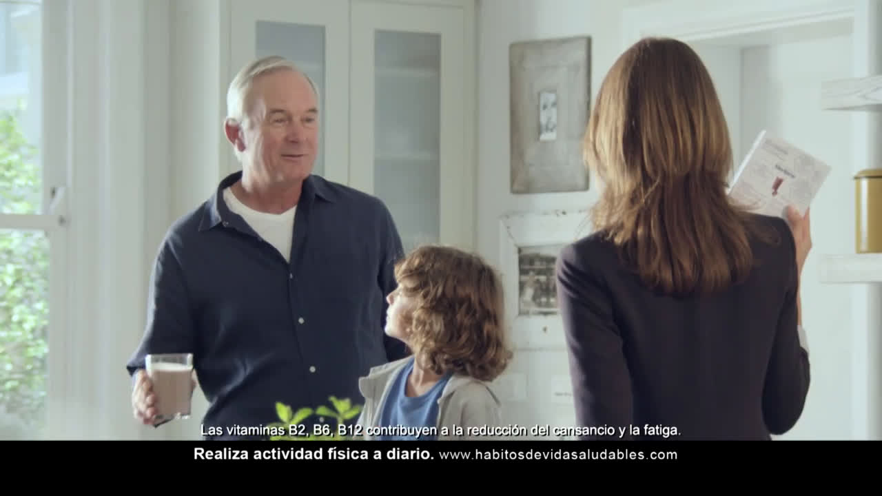 Nestle Meritene Active Senior Nutrition anuncio