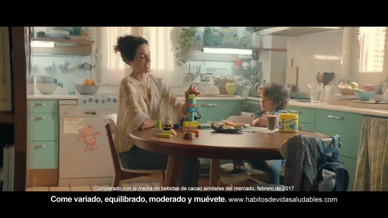 Nesquik ¡Llega el Nesquik -30% azúcar, le encantará! anuncio
