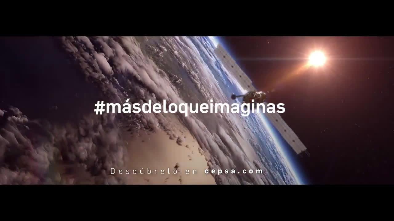 CEPSA La energía de tú móvil y los satélites #másdeloqueimaginas anuncio