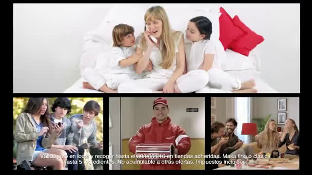 Telepizza El Triple anuncio