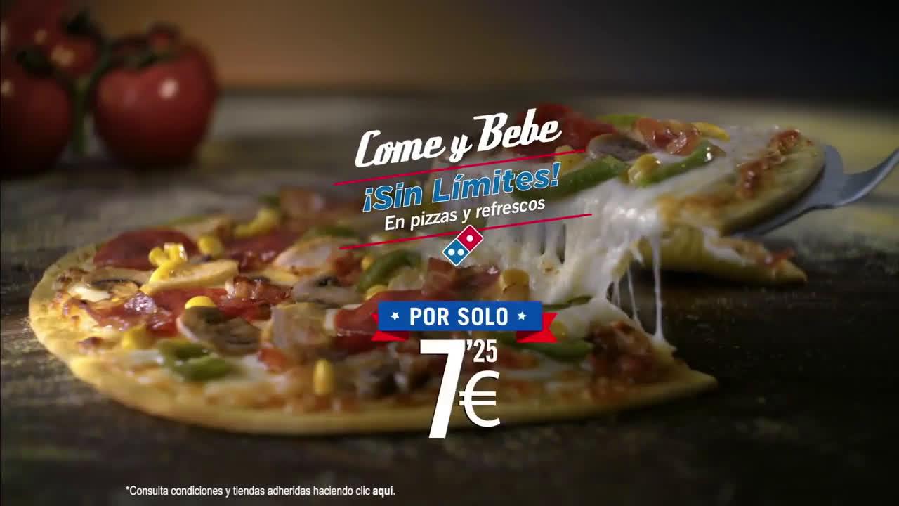 Domino´s Pizza Come y bebe - PINPON anuncio