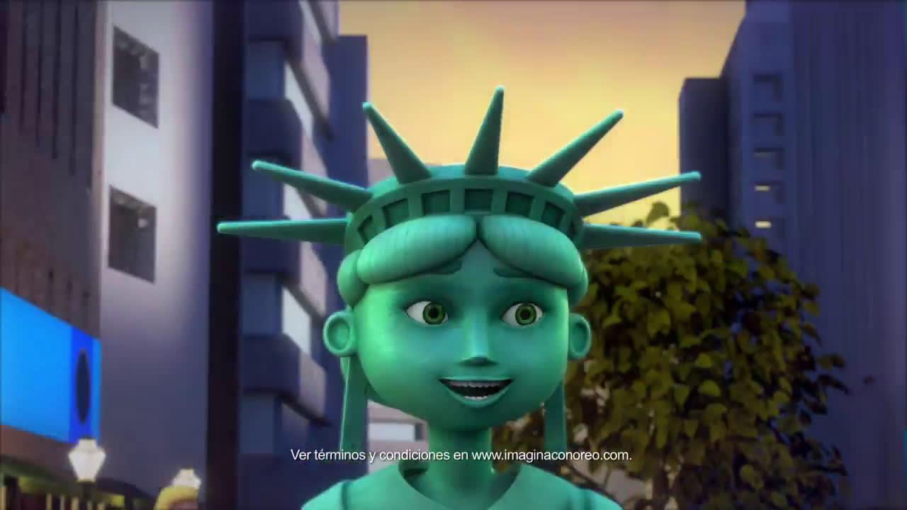 Oreo  ¡Imagina con Oreo y viaja a Nueva York! anuncio