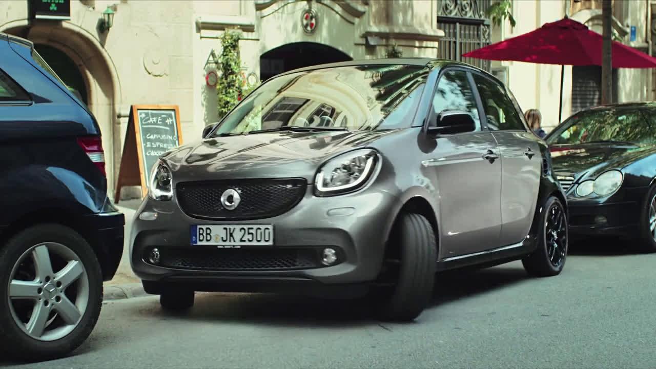 smart España: Nuevo smart forfour 2015 - Spot Shock Trailer