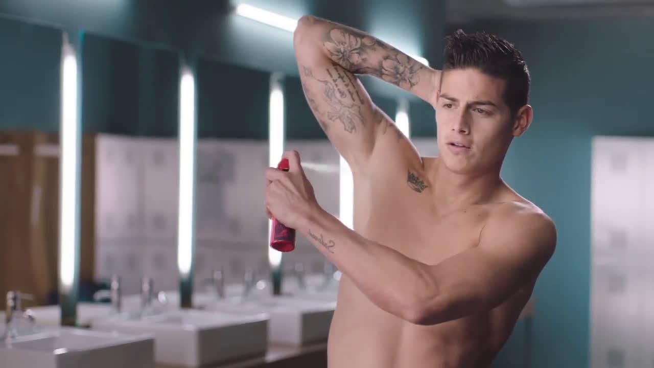 Nivea Men Nuevo desodorante - Protege & Cuida - James Rodriguez anuncio