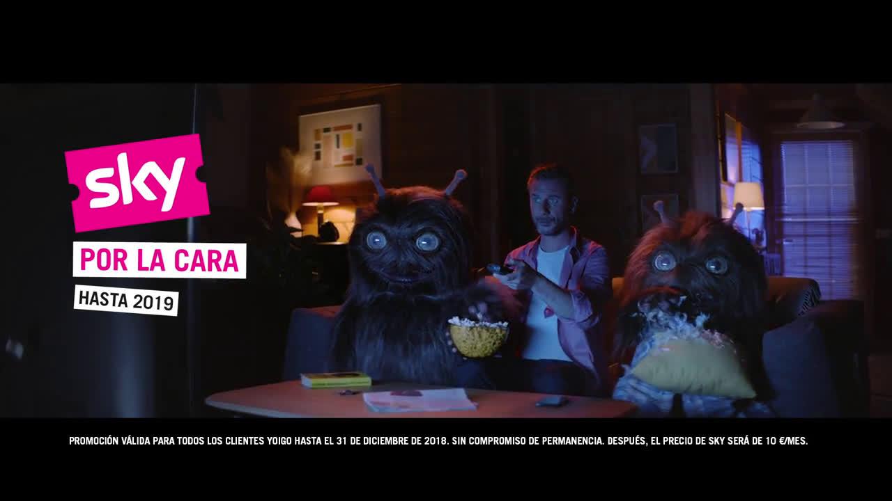 Yoigo 'Extraterrestres', de Pingüino Torreblanca para Yoigo anuncio