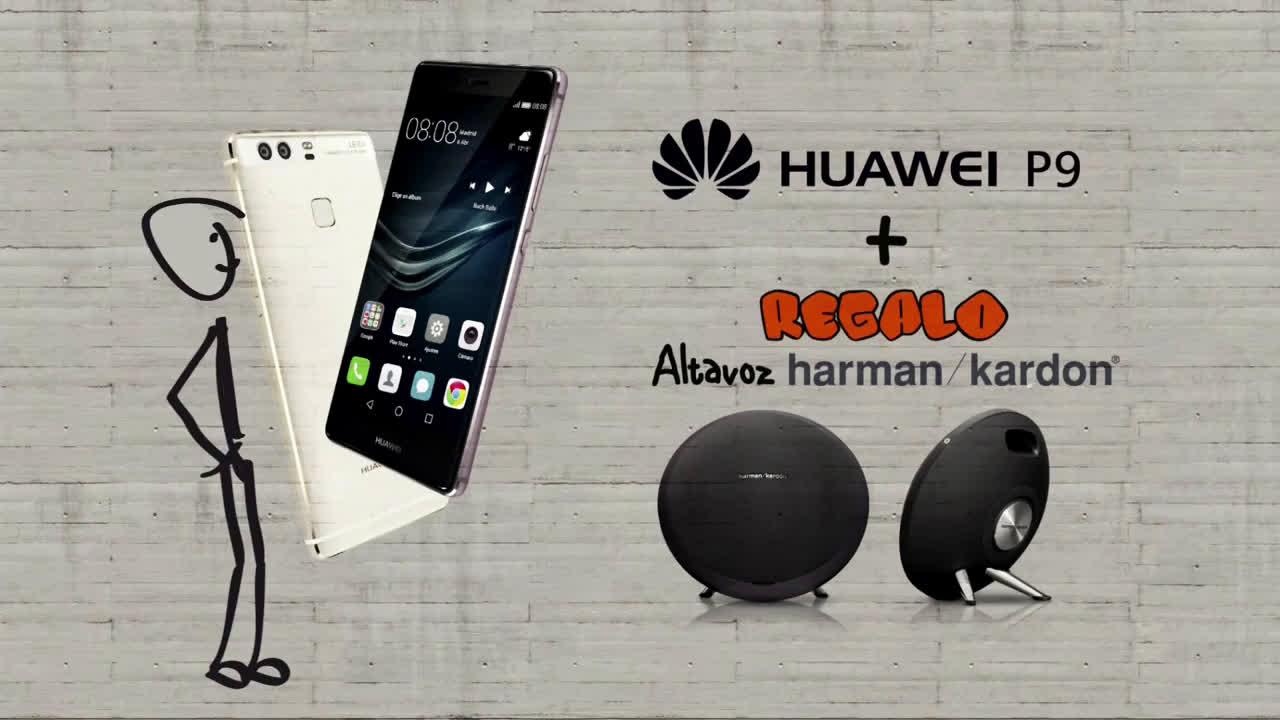 El Corte Inglés Movilízate - Huawei P9 anuncio