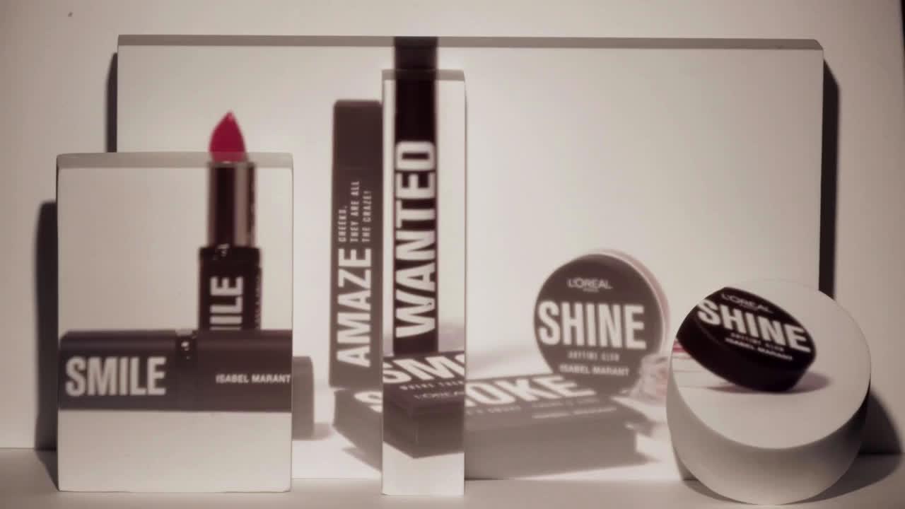 L`oreal 'WANTED' la colección de maquillaje que estás buscando #LorealXIsabelMarant anuncio