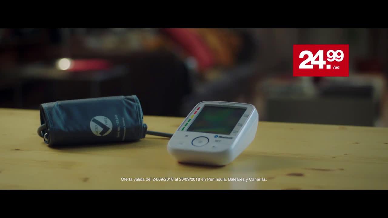 LIDL Tensiómetro de Brazo anuncio