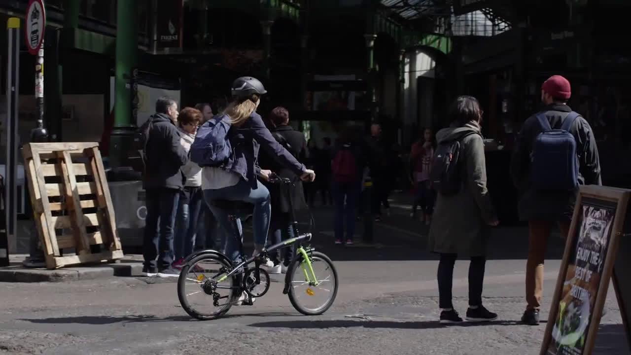 Decathlon Bicicleta plegable Tilt 120 anuncio