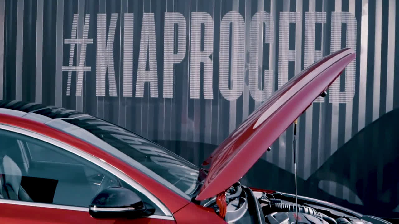Media Lounge Barcelona | Kia ProCeed Trailer