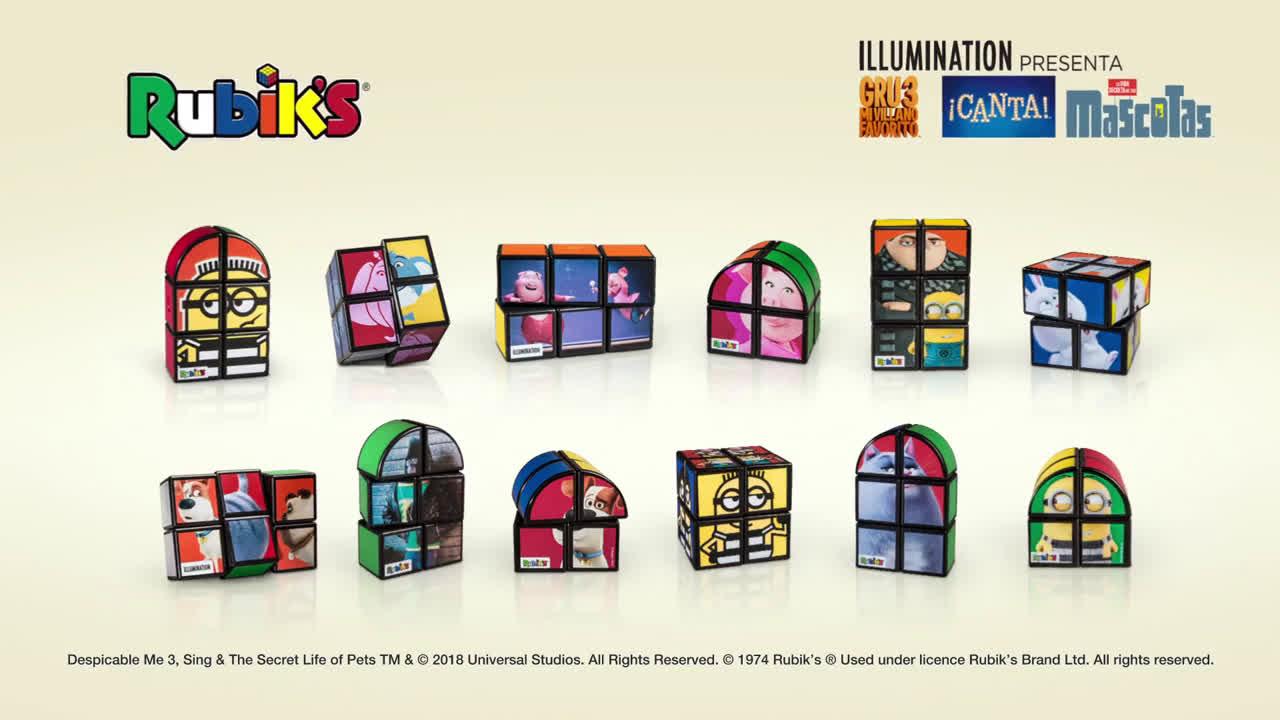 McDonald ¡Con Rubik's todo encaja en tu Happy Meal! anuncio
