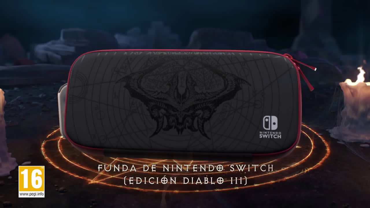 Nintendo Tráiler de Nintendo Switch edición limitada Diablo III anuncio