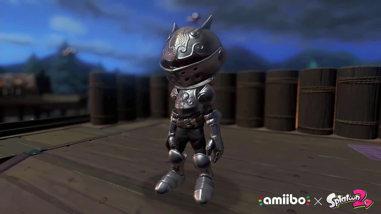 Nintendo Splatoon 2 - Tráiler de los amiibo octarianos (Nintendo Switch) anuncio
