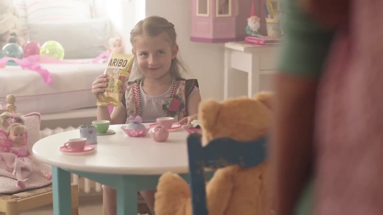 Haribo Ositos de Oro Azúcar anuncio