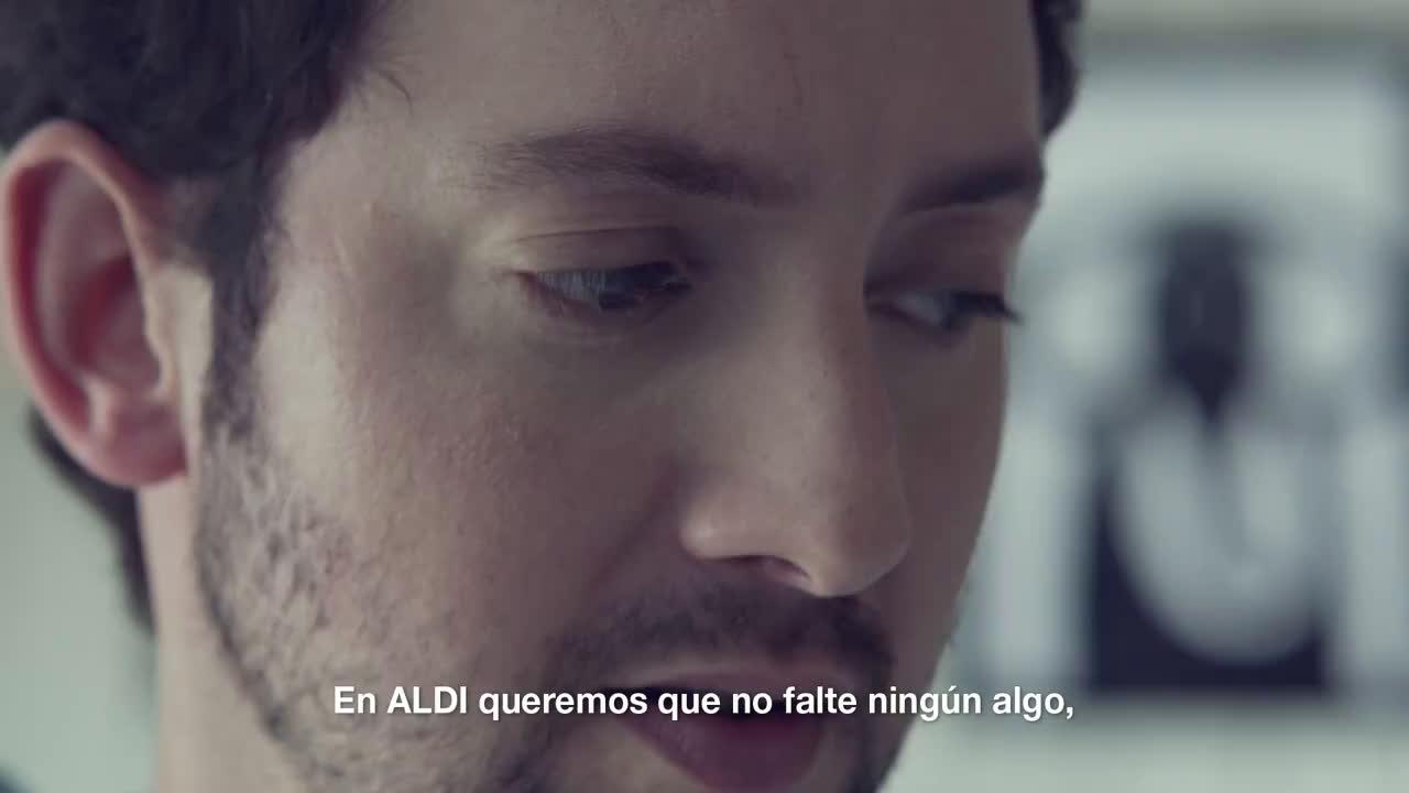 """Aldi #AlditieneAlgo: """"Faltar Algo"""" anuncio"""
