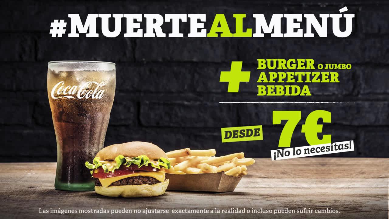 The Good Burger le declaramos la #muertealmenu  anuncio