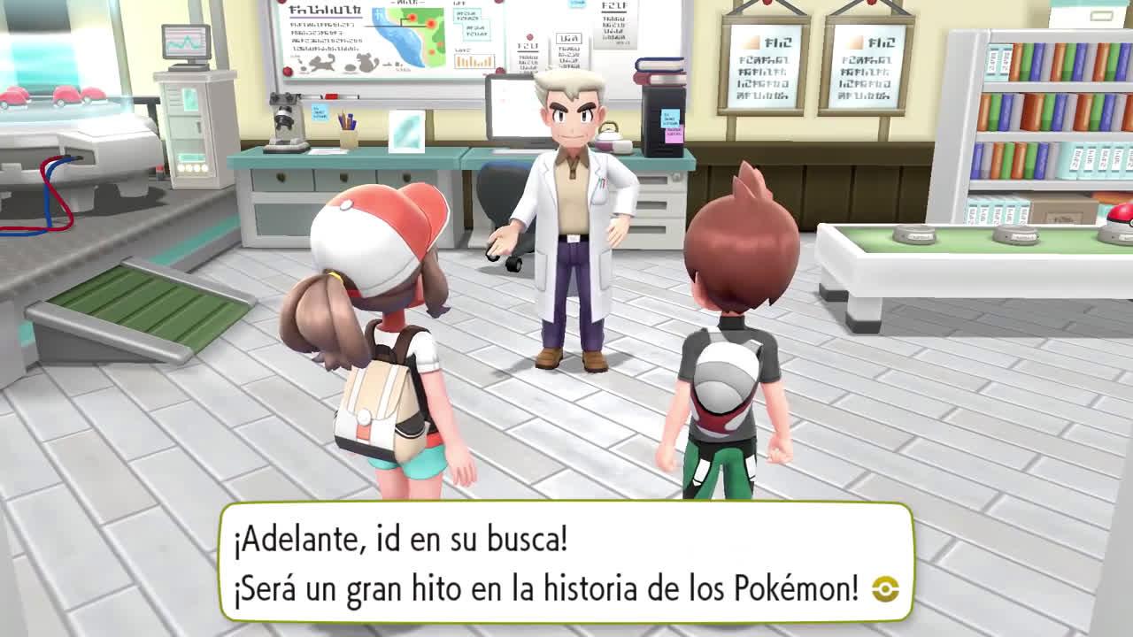 Nintendo Pokémon: Let's Go, Pikachu! y Pokémon: Let's Go, Eevee! - Tráiler de lanzamiento (Nintendo Switch) anuncio
