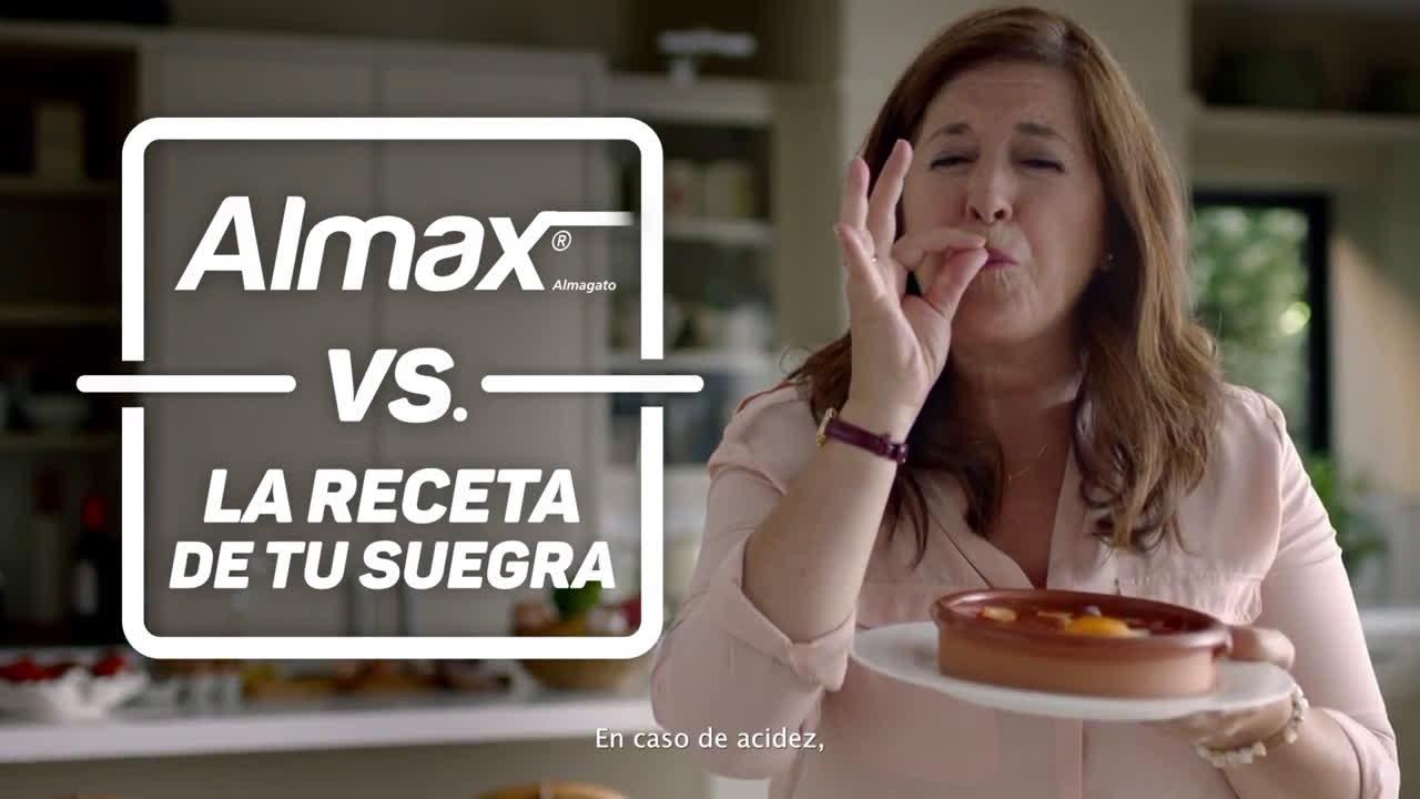 Almax VS. Las recetas de tu suegr anuncio