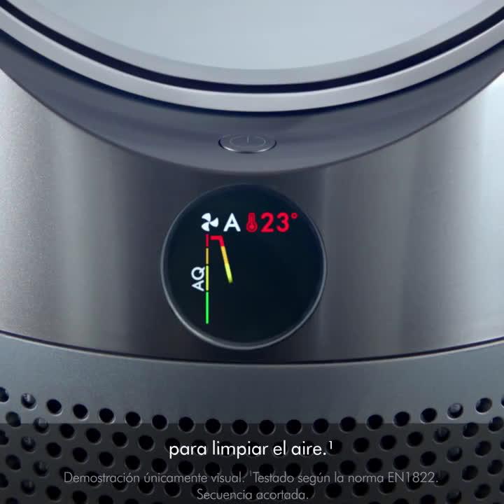 Dyson Pure Hot + Cool: purifica y calienta de forma automática anuncio