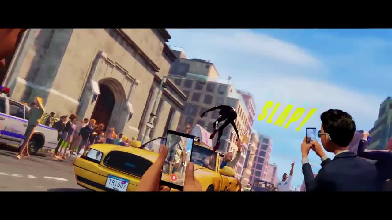 Sony Pictures Entertainment SPIDER-MAN: UN NUEVO UNIVERSO. Invisibilidad. En cines 21 de diciembre anuncio