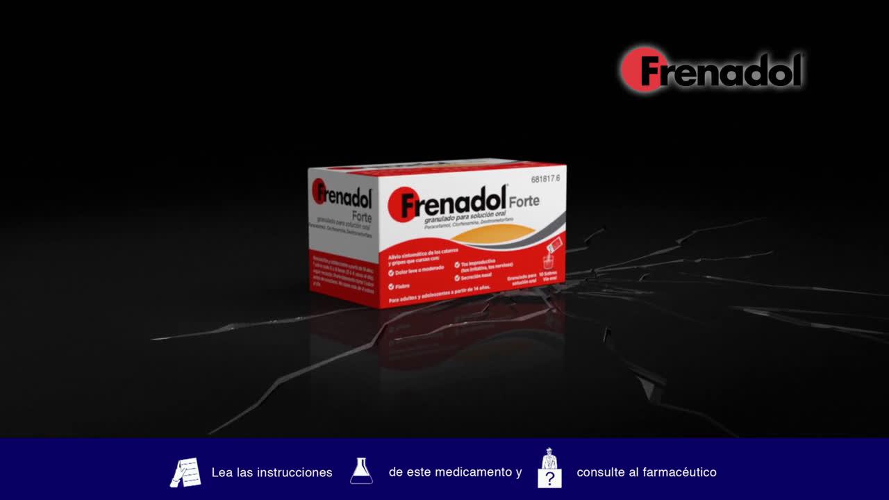 Frenadol La solución Forte de Frenadol anuncio