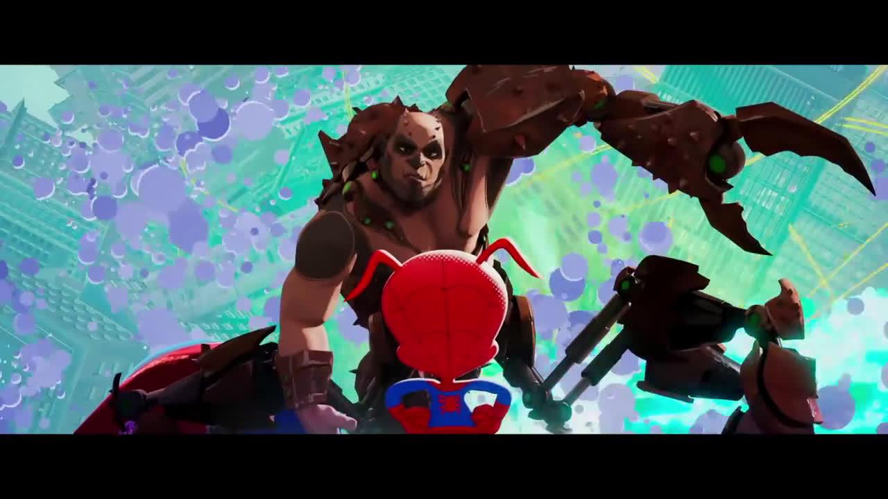 Sony Pictures Entertainment SPIDER-MAN: UN NUEVO UNIVERSO. Spider-Ham. En cines 21 de diciembre anuncio