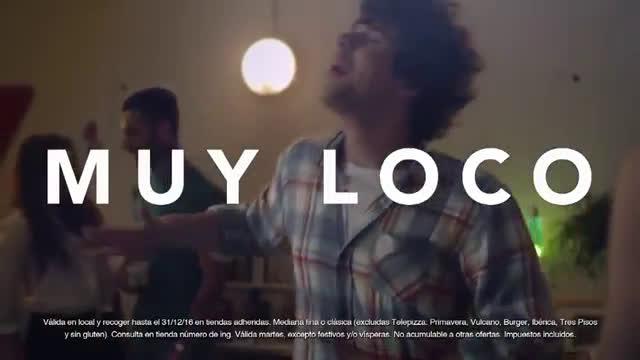 Telepizza Martes Locos - Julito  anuncio