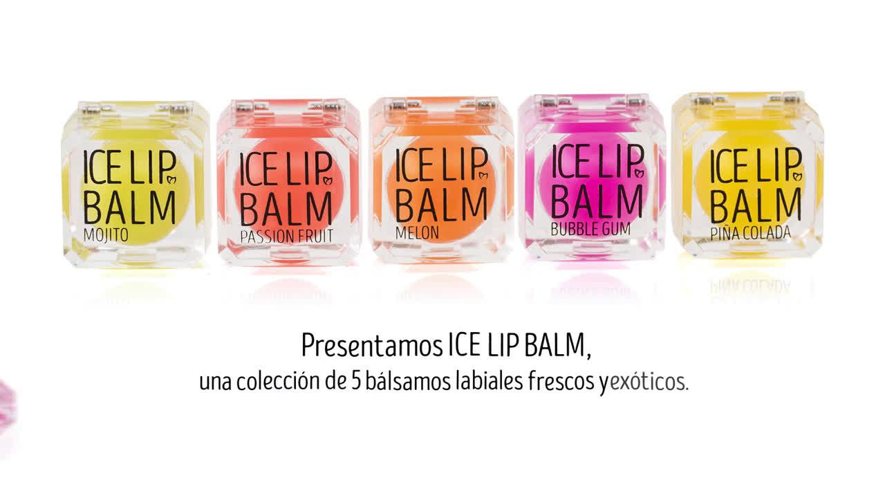 Equivalenza Refresca tus besos este verano con el nuevo ICE LIP BALM anuncio