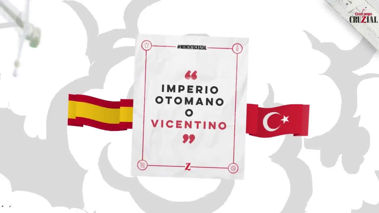 CruzCampo España vs. Turquía #MomentoCruZialContraTurquía anuncio