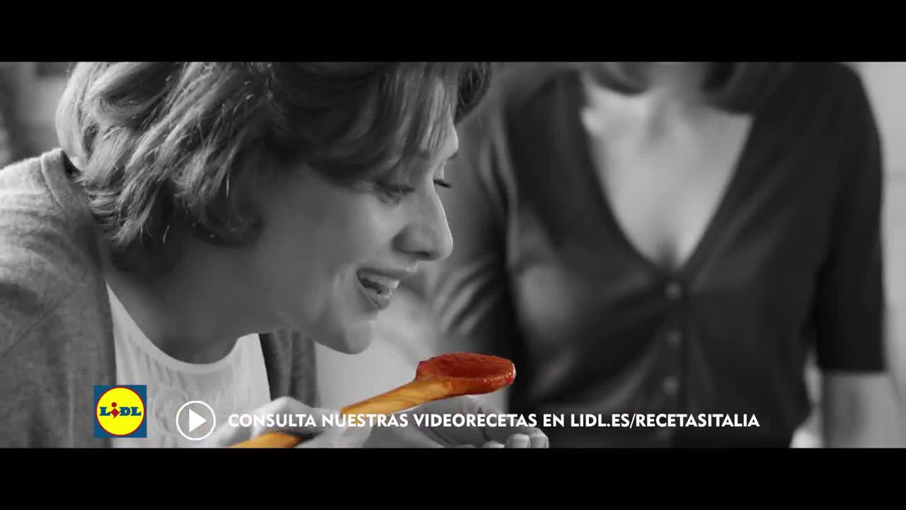 LIDL Italiamo, Bon Appetit anuncio
