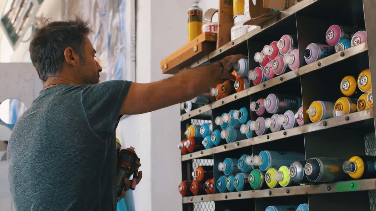 video canon cedric bouteiller donne vie son art gr ce l 39 impression pub. Black Bedroom Furniture Sets. Home Design Ideas