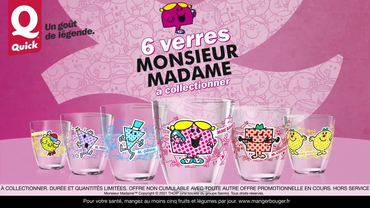 Musique publicité Quick Les Monsieur Madame s'invitent chez Quick    Juin 2021