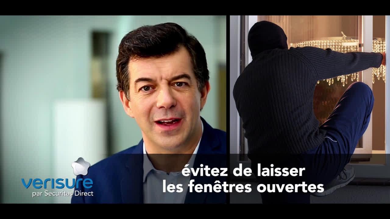 Video verisure par securitas direct conseil de st phane for Empecher ouverture fenetre pub