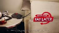 Hotels.com Book Now Pay Later Commercial