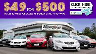 2 CHEAP CARS  $500 Voucher for Any Car Commercial