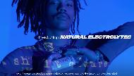 evian water featuring natural electrolytes with Luka Sabbat pub tv