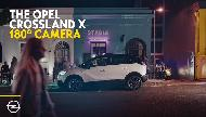 Opel Crossland X with 180° Rear View Camera Commercial