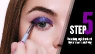 Covergirl Eye Makeup Tutorial: Prismatic Purple Eyeshadow Look Commercial
