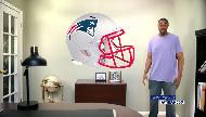 fathead NFL 2017 - New England Patriots  Commercial